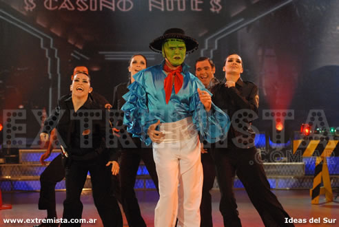 "Fotos de Miguel Ángel Cherutti en el Musical ""The Mask"""